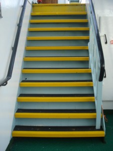 Anti Slip Stair Treads After Renovation