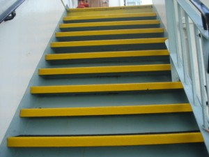 Anti Slip Stair Steps After Renovation by SComp