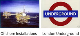 Offshore Installations and London Underground