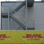 DHL Fire Escape