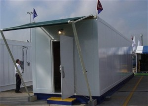 Accommodation Module manufactured using Fybatex (Smooth)