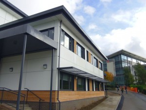 Resotex Panels at Middlesex Uni