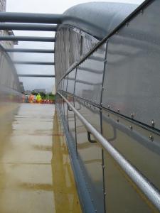 FybaTex panels installed on Tyndall Bridge